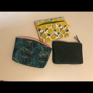 Mini make up bags